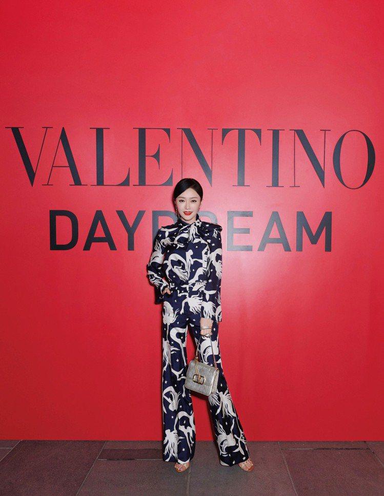 秦嵐出席Valentino北京活動。圖/Valentino提供