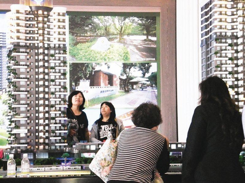 單身女性購屋增加,原因是女性經濟獨立、期待也有獨立空間。圖/聯合報系資料照片