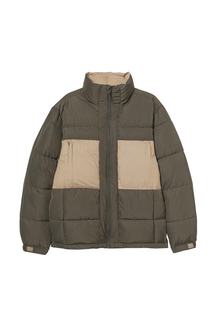 H&M假日系列男裝外套1,999元。圖/H&M提供