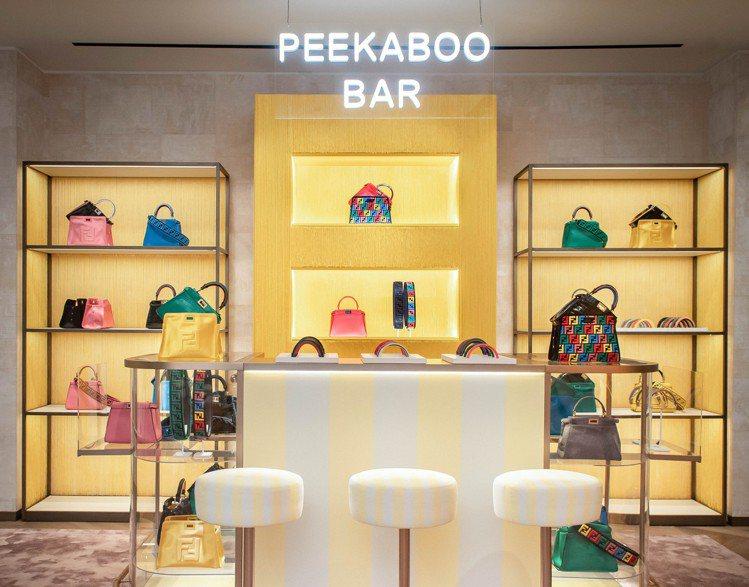Peekaboo Bar巡迴訂製服務即日起至12月25日在台北微風信義專門店登場...