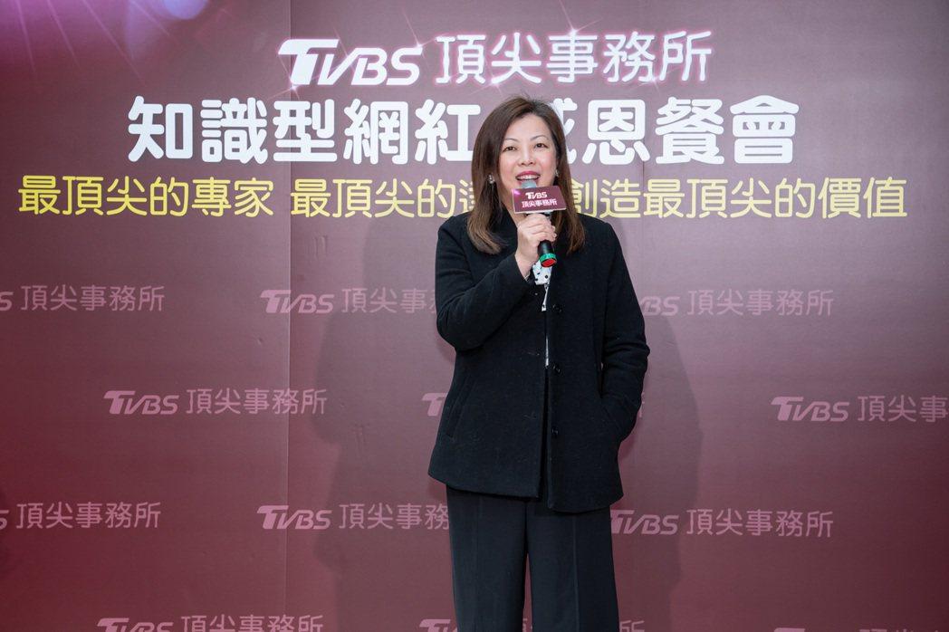 TVBS總經理劉文硯上任後,對台內轉型及未來規畫很有自己的想法。圖/TVBS提供
