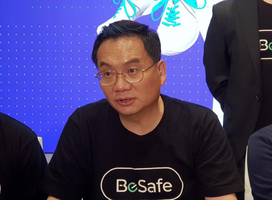 國泰產險總經理陳萬祥。記者戴瑞瑤/攝影。