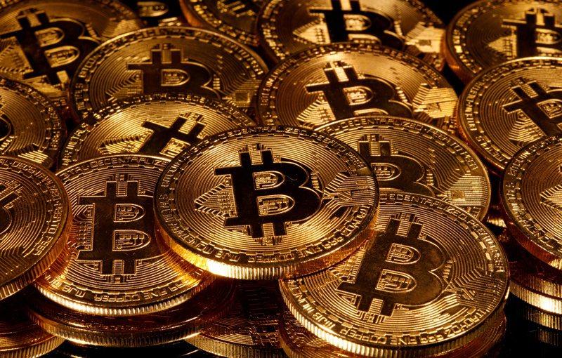 比特币16日首度升破2万美元。路透(photo:UDN)