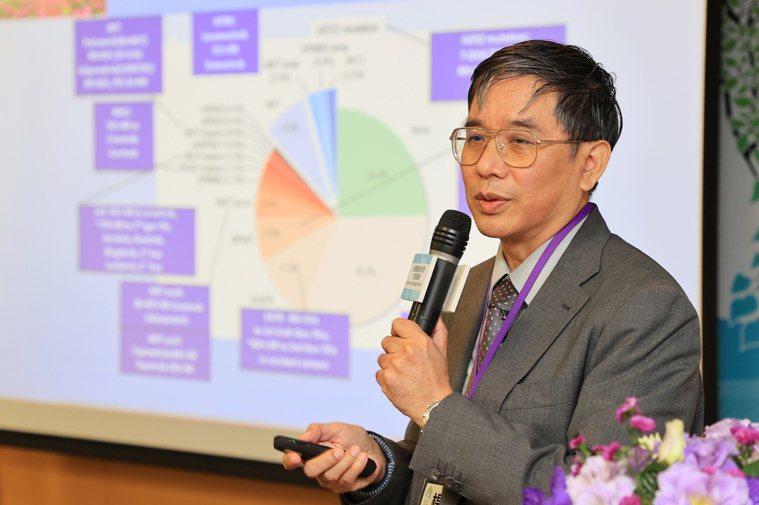 台大癌醫中心醫院院長楊志新在「台灣肺癌智庫行動方案高峰會」發表專題演講,癌症新藥...