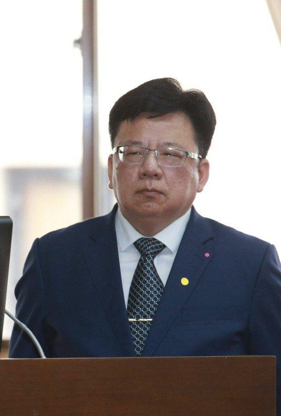 總統府副秘書長李俊俋。記者黃義書攝影/報系資料照