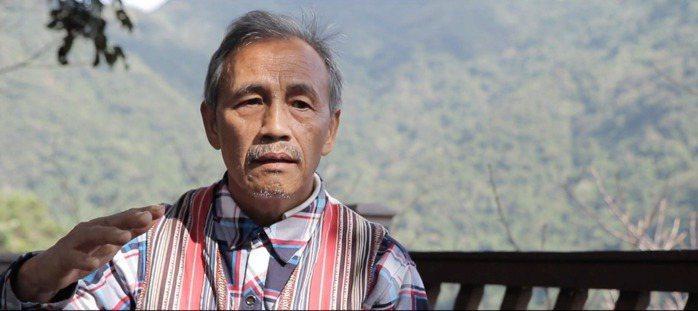 比亞外部落長老,猶浩 ‧ 達亞。 圖/陽光伏特家提供