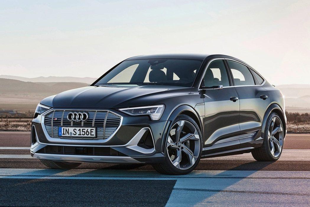 Audi e-tron電動車系列發展前景看好。 摘自Audi