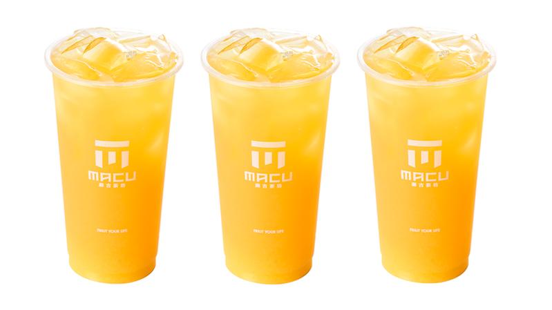 麻古茶坊「翡翠柳橙」。 圖/麻古茶坊