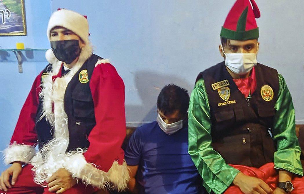 秘魯首都警察本周公布了一部佳節應景的特殊執法片——兇猛的聖誕老人與他更兇猛的精靈...