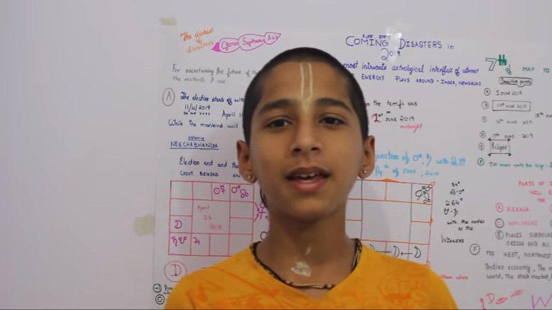 印度神童阿南德(Abhigya Anand)年僅14歲。圖擷自YouTube