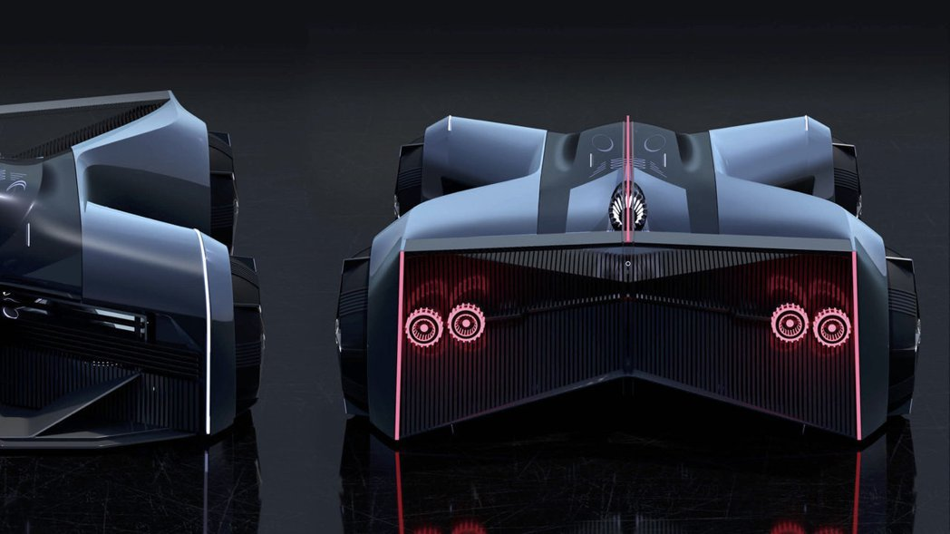 Nissan GT-R (X) 2050。 圖/Nissan提供