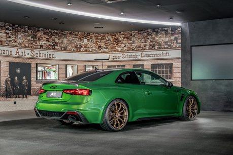 零百加速只要3.5秒 升級Audi RS5交給ABT就對了!