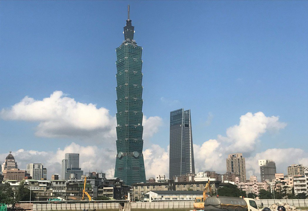 台北101。記者游智文/攝影