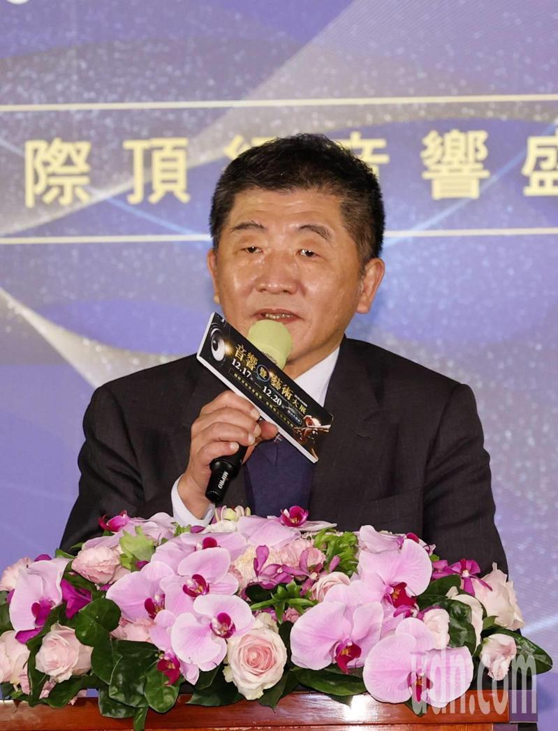 衛福部長陳時中表示,蘇偉碩發表的內容正不正確,就由法院去調查。記者鄭超文/攝影