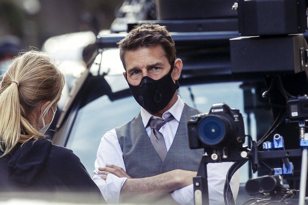湯姆克魯斯在片場怒飆髒話。圖/歐新社