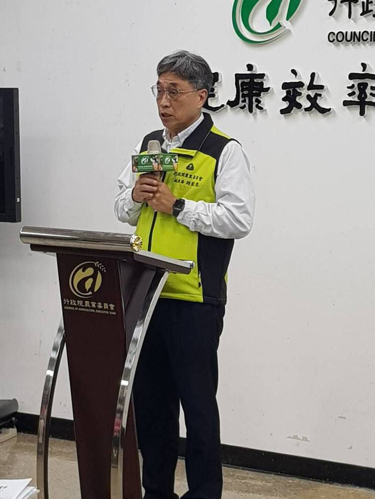 農委會副主委陳駿季。記者彭宣雅/攝影