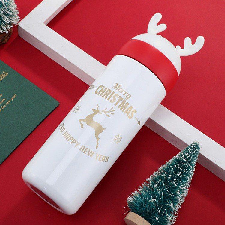 麋鹿造型保溫杯,Yahoo奇摩拍賣售價388元。圖/Yahoo奇摩拍賣提供