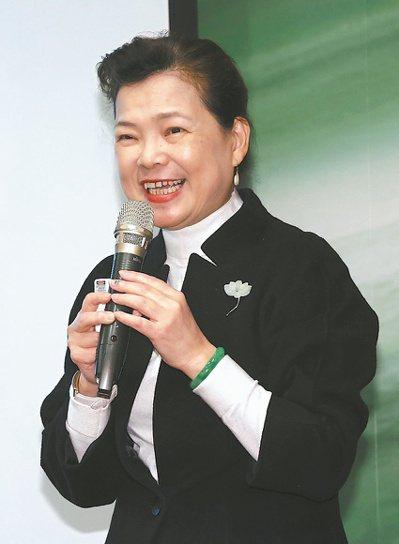經濟部長王美花昨天以「聚焦新興產業加碼投資台灣」為題發表演講。記者黃義書/攝影