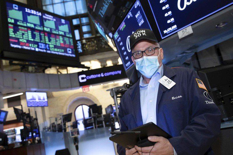 美股道琼17日早盘上涨约150点。美联社(photo:UDN)