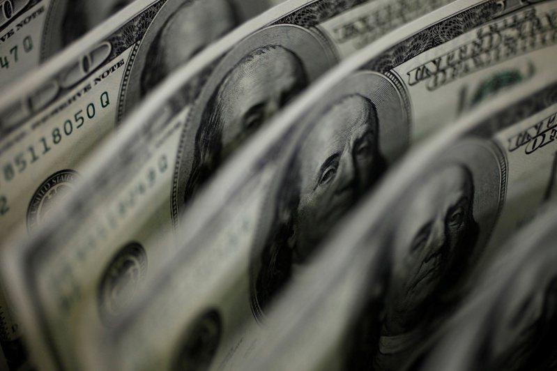美元指数(DXY)盘中跌破90关卡。(路透)(photo:UDN)