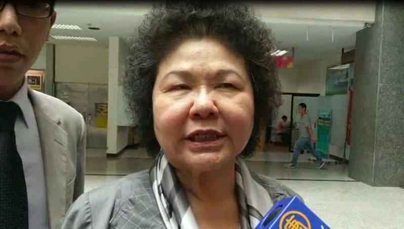 陳菊曾以高雄市長身分,突如其來當著AIT處長司徒文面前大談美牛議題。 圖/聯合報資料照片