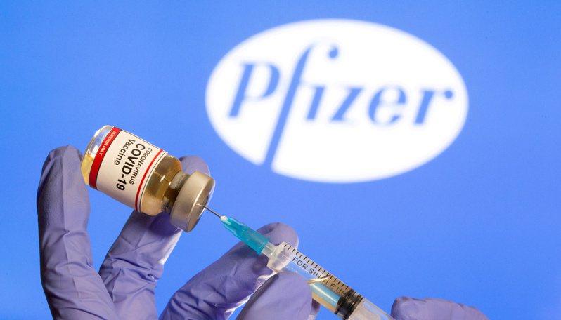 輝瑞疫苗。路透