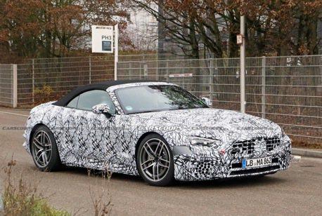 2021 Mercedes-AMG SL車系再度現蹤 會導入新動力嗎?