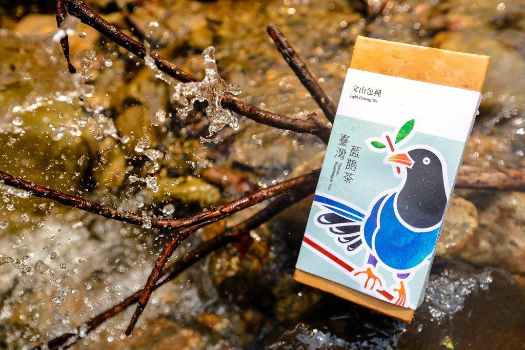 聖誕綠禮:臺灣藍鵲茶 2020年春茶。圖:臺灣藍鵲茶。 圖/環境資訊中心
