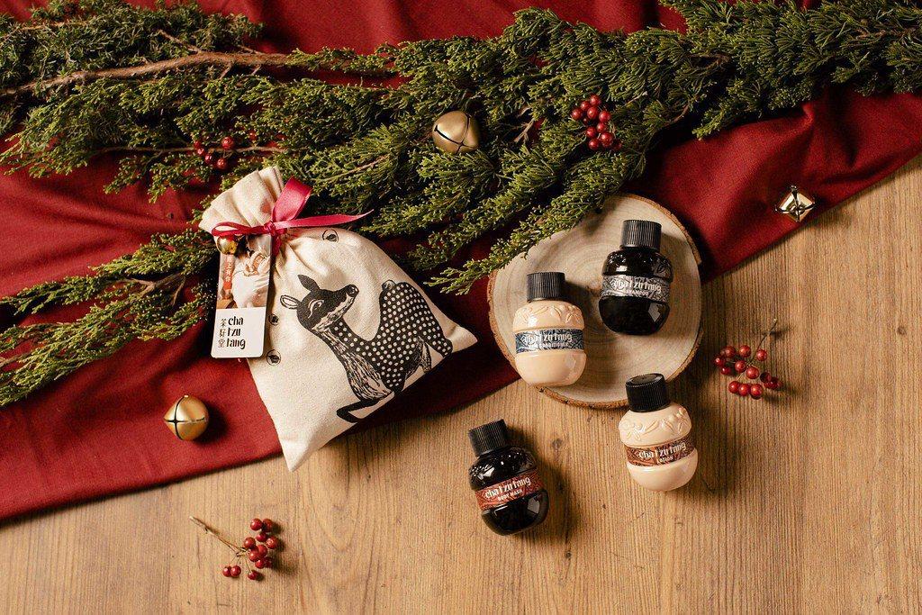 聖誕綠禮:茶籽堂【經典聖誕】小鹿袋旅行組。圖:茶籽堂。 圖/環境資訊中心
