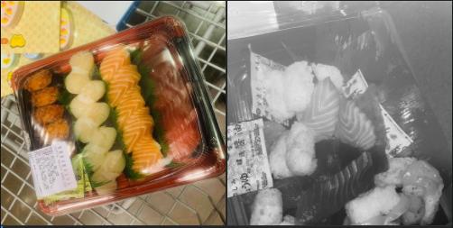 圖為原po購買的壽司對比圖。圖擷自Costco好市多商品經驗老實說