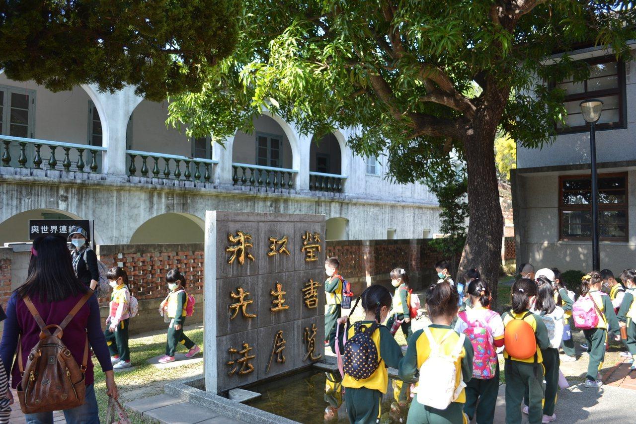 朱玖瑩紀念館內有他的各式書體作品,是最佳教育場域。 圖/鄭惠仁 攝影