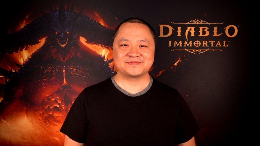 首席遊戲設計師Wyatt Cheng 圖:暴雪娛樂提供