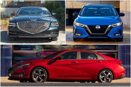 Nissan Sentra強碰兩款韓系房車! 2021北美年度風雲車決選名單公布!
