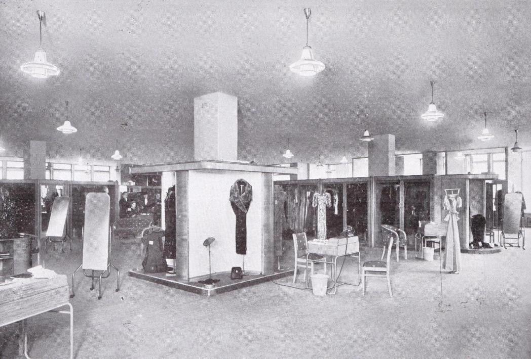 當時彼得瓊斯百貨公司的內部裝潢。 圖/John Lewis Memory Sto...