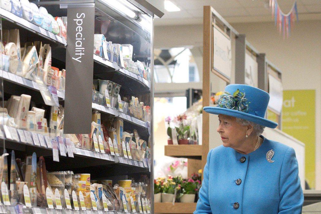 圖為2016年英國王室到維特羅斯參觀。 圖/ 路透社