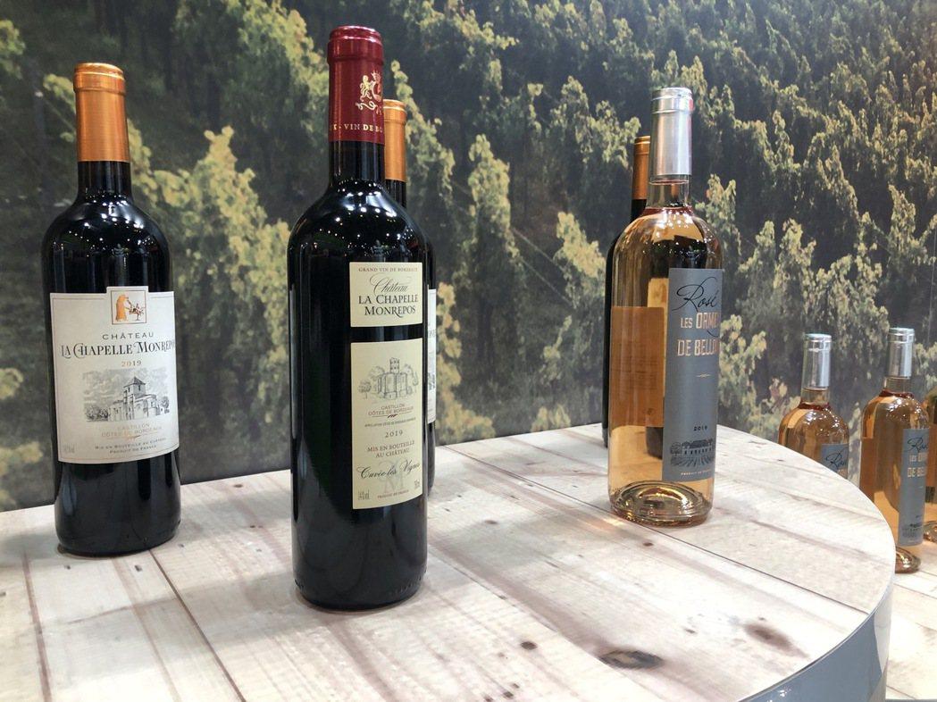 法國貝艾爾酒莊2020年紅酒,首次於台灣市場亮相。  金色大地/提供
