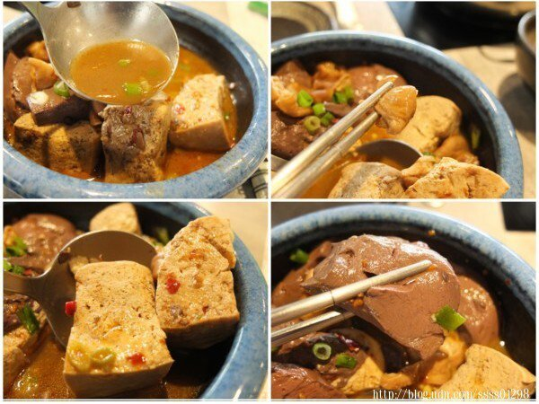 想再吃得更豐盛一點,凱南推薦單點區的綜合麻辣鴨血、麻辣豆腐、大腸