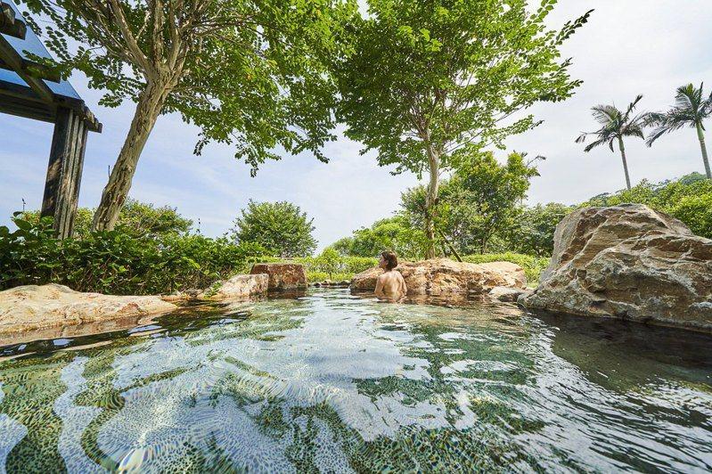 喜歡泡湯的人可以參加礁溪老爺酒店的SPA放鬆一日遊程。(圖片提供:礁溪老爺)