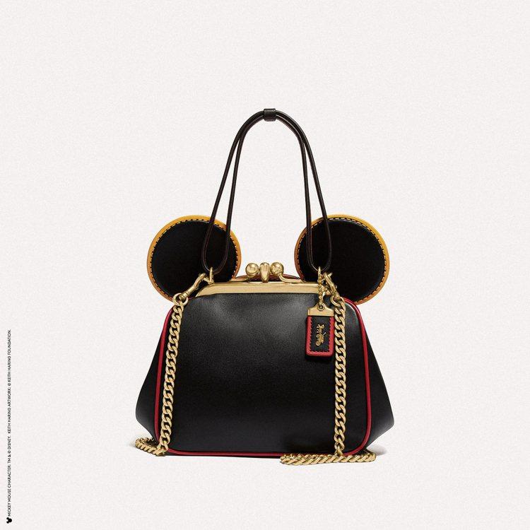 Disney Mickey Mouse x Keith Haring鞣製皮革 K...