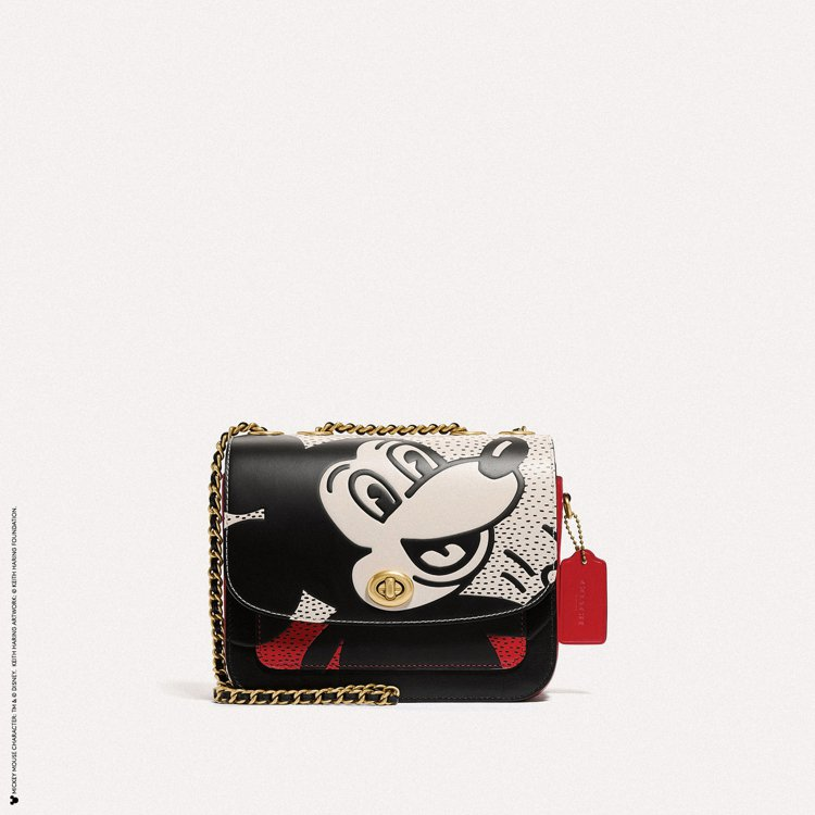Disney Mickey Mouse x Keith Haring肩背包,19...