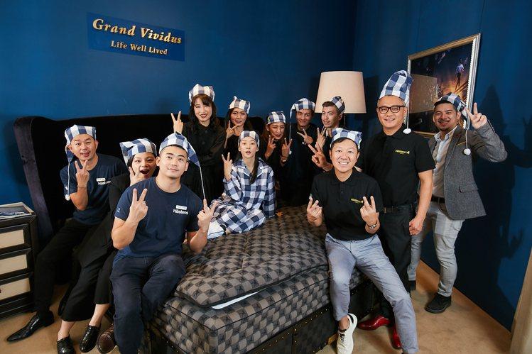 Hästens最頂級的Grand Vividus床組,要價千萬元。圖/大輔傢飾提...