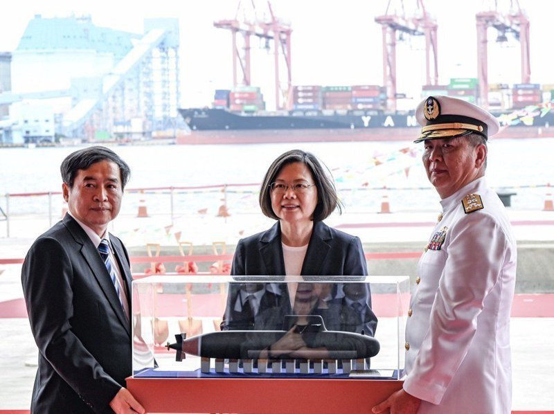 據指出,最重要關鍵裝備「戰鬥系統整合管理」(CSIM),將在下周獲得美方核發輸出許可,圖為去年潛艦廠房動土典禮。圖/海軍提供