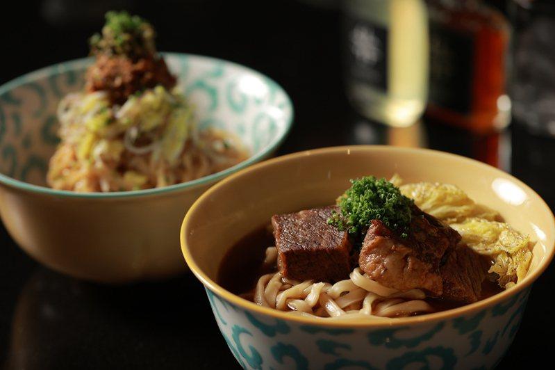 GUBAMI融入法式烹藝的牛肉麵,顛覆外界對於傳統美食的想像。圖/台北晶華提供