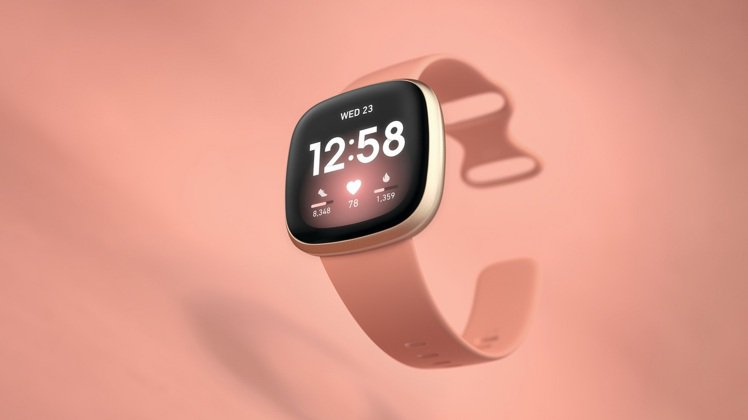 Fitbit推出「耶誕超限定」限時優惠活動,購買Fitbit Versa 3陶粉...