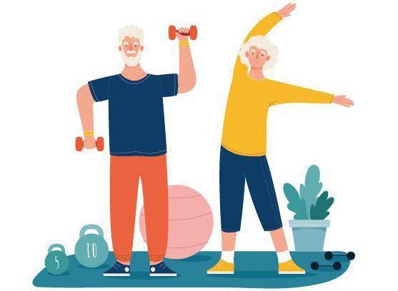 許多人觀看網路影片自學健身,很容易造成運動傷害。圖/123RF
