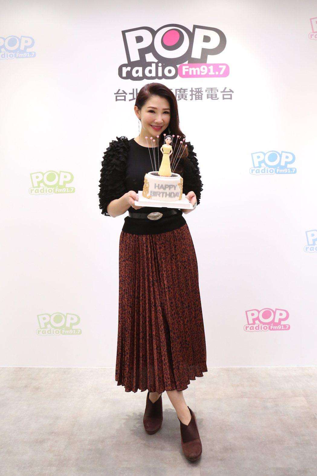 林書煒20日將迎接45歲生日。圖/POP Radio提供