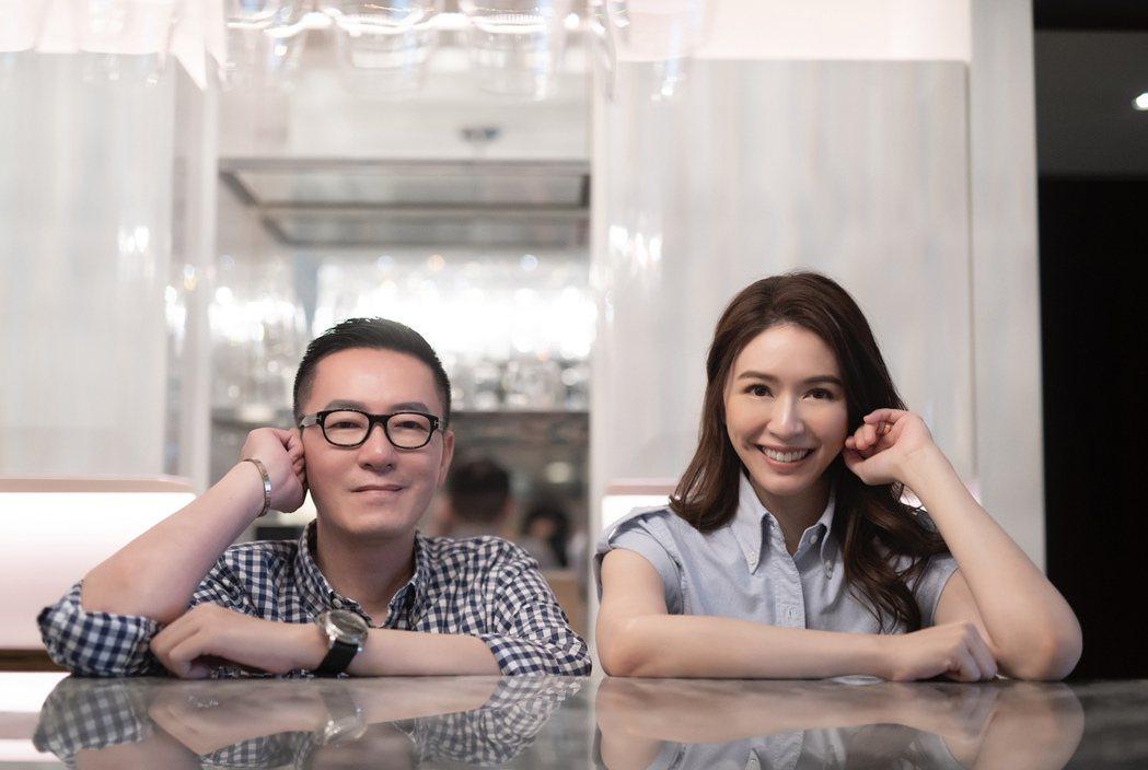 天天(左)改編經典歌曲「偶然」,邀蔡依珊錄製OS。圖/Leon Hung提供
