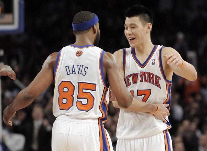 P聯盟執行長陳建州今(19)日在臉書上分享好消息,宣布在尼克和林書豪當過隊友的前NBA球星戴維斯(Baron Davis)成為P聯盟合作夥伴,正式加入股東行列。  歐新社