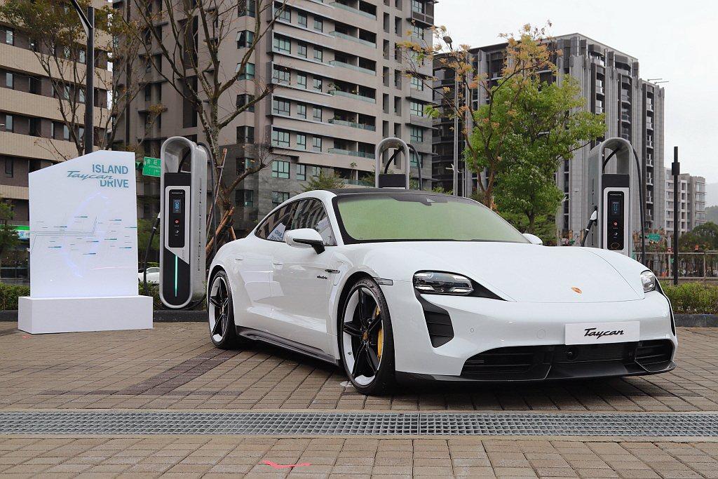Porsche Taycan。 記者張振群/攝影