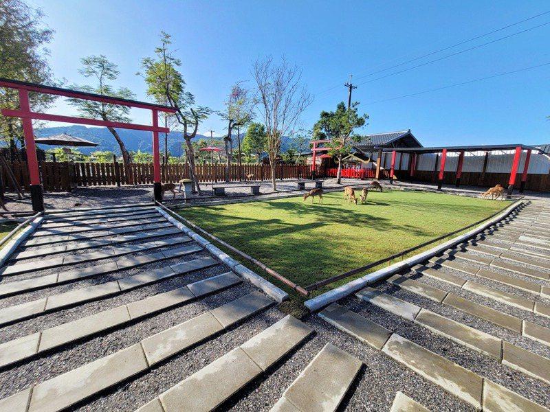 日式庭院讓人秒出國。圖/宜蘭ㄚ欣的美食日誌授權